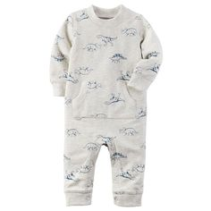 6b834f6cb2 Baby Boy Carter s Dino French Terry Coverall