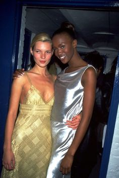 16 photos of Naomi Campbell and Kate Hudson's friendship through the years: