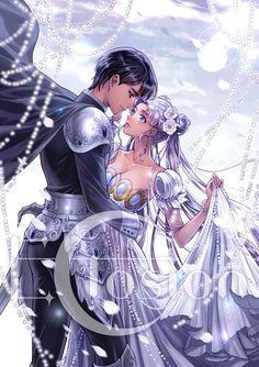 Usagi and Mamoru -  Sailor Moon