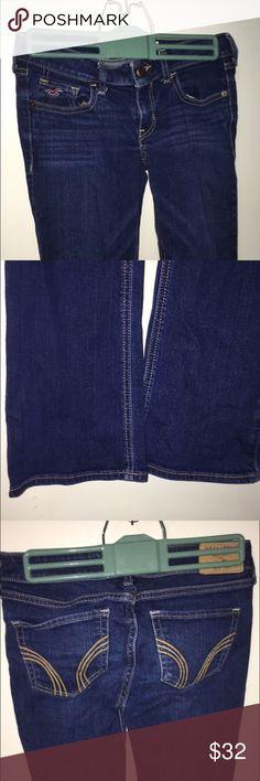 "Hollister jeans Hollister boot cut jeans, dark wash, ""original short"", fabulous condition (2nd pair) Hollister Jeans Boot Cut"
