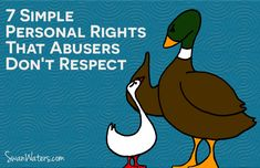 7 Simple Personal Rights That Abusers Don't Respect