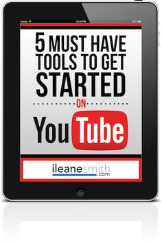Here's a guide to the must-have tools you need to get started on making YouTube videos for your business
