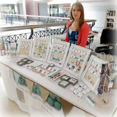 Jewelry Stall Natasha Fraser | Jewelry Booth | Jewelry Displays | Jewelry Booth Display Ideas