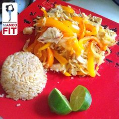Mankofit | Grilled Chicken & Peppers