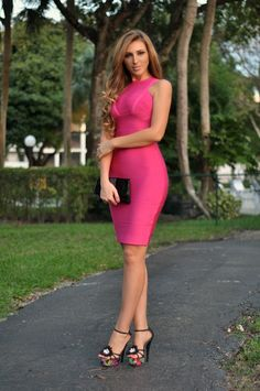 Hot Miami Styles Blog: Fuchsia Fun