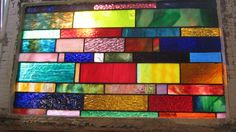 Vintage Chicago Bungalow Stained Glass Window by stanfordglassshop, $200.00