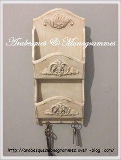028e7f6fac5 vide poche décoratif   porte clés mural   Meubles et rangements par  arabesques-et-