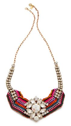 frieda Retro Disco Cowgirl Necklace