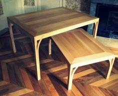 L'Air du Bois - Duo de tables modulables