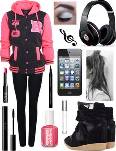 """""""That Hip-Hop Music Girl"""" by rsnyde ❤ liked on Polyvore"""