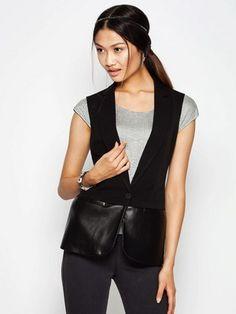 Модные женские жилетки