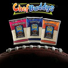 Super Bowl 2018 is Sunday, February 4th. What's on your menu for the big game? How about some barbecue sandwhiches, mac-n-cheese, and #ChefBuddys® #SouthernSlaw™? Check out our great recipes to compliment your meal.