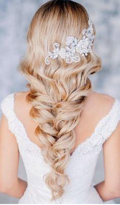 Wedding Hairstyle #hair / Acconciatura Matrimonio #capelli
