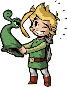 Exelo est un sage Minish. Il a été transformé en chapeau par Vaati,Au début de l'aventure, le héros, Link le sauve des attaques d'Octorocks. À partir de cet instant, il va se fixer sur sa tête et ne plus le quitter de toute l'aventure, offrant, par la même occasion et pour lui montrer sa reconnaissance
