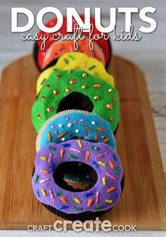 8 Best Donut Storytime images in 2013 | Baby books, Crafts for kids