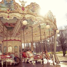 Tuileries Carousel in Paris. I want to go back to Paris in spring or summer.