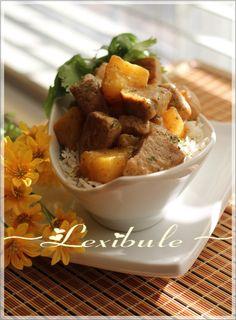 les milles & un délices de ~lexibule~: Filet de porc à l'ananas
