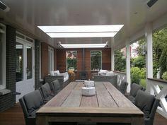 Porch of Veranda Plaza in The Hague - Innen Garten - Eng