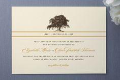 Oak tree invite