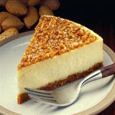 Almond Praline Cheesecake
