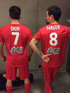 Olivier Dion et Damien Sargue !
