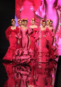 Moda Flamenca by Vicky Martín Berrocal. 2012