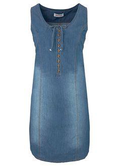 f1baa0129ba7 Džínsové šaty v strihu do A Džísové • 22.99 € • bonprix