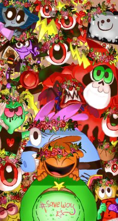 """madchrison: """"Wreaths to all! I drew this with a mouse, so forgive me for this curves lines 〒▽〒 """" Wonder Over Yonder, Cartoon Network Fanart, Lord Dominator, Wallpaper Backgrounds, Wallpapers, Aesthetic Makeup, Ship Art, Disney Cartoons, Forgive"""