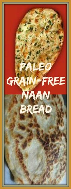"Paleo Grain-free, Gluten-free Naan Bread ""Naan - 4 eggs, 1/4 cup coconut oil, 1/2 cup coconut flour, 1/4 tsp baking powder, 2/3 to 1/2 cup coconut milk or water, 2 pinches salt, mix, cook on skillet"" Please Repin #carbswitch"