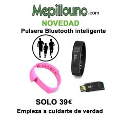 OFERTA Pulsera bluetooth inteligente solo 39€