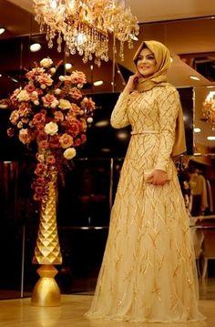 Pınar Şems - Yağmur Abiye Gold