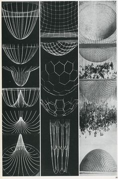 Frei Otto. Casabella 301 1966: 40 / Sacred Geometry <3