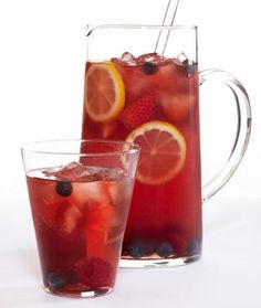 Mixed Berry Iced Tea Recipe If its like Wendy's I'm all about it!