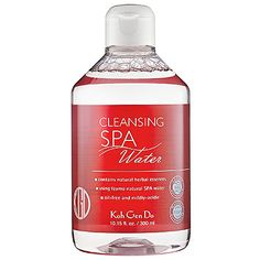 """9/25: """"A little of this cleanser goes a looong way. All it takes is a little splash of this gentle cleansing water and one, count 'em, ONE cotton pad and all my makeup is off. Plus, the herb extract-infused formula leaves my skin rejuvenated."""" -Candace S., Community Marketing Manager #Sephora #DailyObsessions"""