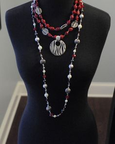 Premier Designs Jewelry Hot Hot Hot with Salsa Necklaces and Zebra  billn9638@msn.com or 856-468-2548