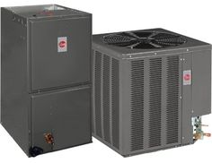 4 Ton 13 Seer Rheem / Ruud Air Conditioning System - 13AJN48A01 - RHSLHM4821JA Painted louvered steel cabinet.. Easily accessible control box.. Condenser coils constructed with copper tubing and enhanced aluminum fins.. Grille/Motor mount for quiet fan operation.. Filter Drier (shipped - not installed)..  #Rheem_/_Ruud #Home_Improvement