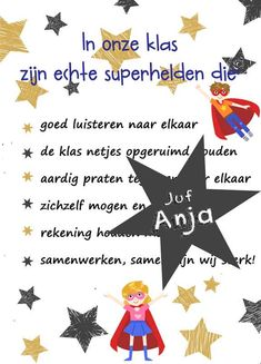 poster klassenregels superhelden Educational Leadership, Educational Technology, Learning Quotes, Mobile Learning, Primary Education, Teacher Quotes, Early Childhood Education, School Organization, Beauty Quotes