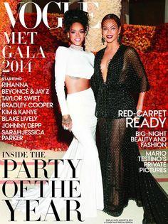 Vogue - Beyoncé & Rihanna Met Gala Special Edition