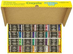 Crayola 52-1617 Class Pack Crayola Construction Paper Crayons, 25 ea. of 16 Colors, 400/Set *** Learn more @