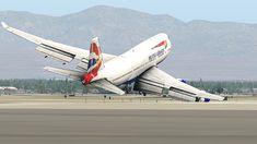 Airbus A380, Boeing 747, Airplane Photography, Wonder Quotes, Disney Pixar Cars, British Airways, Landing, Aviation, Aircraft