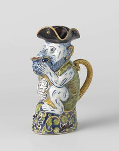 Monkey-shaped milk jug