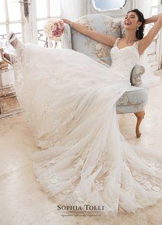 Courtesy of Sophia Tolli Wedding Dresses