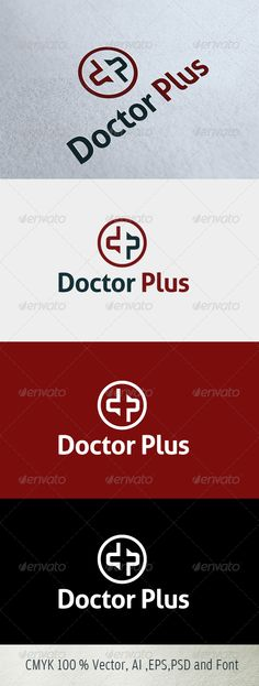 SALE SALE logo just 29$ on graphicriver.com Doctor Plus Logo Template