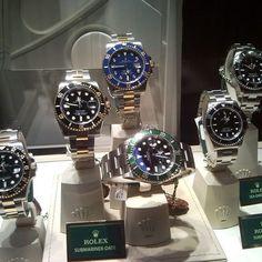 Rolex squad. Make a pick. | http://ift.tt/2cBdL3X shares Rolex Watches collection #Get #men #rolex #watches #fashion
