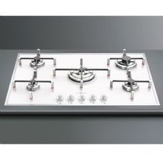 Smeg 74cm Gas On Glass Hob PVB750