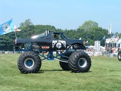 Monster Truck Grim Reeper