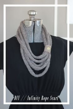 Infinity Rope Scarf by joyofallcrafts - home - DIY