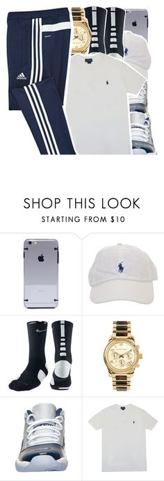 """Polo x adidas x air jordan 11"" by lulu-foreva ❤ liked on Polyvore featuring NIKE, Michael Kors, Retrò, Polo Ralph Lauren and adidas"