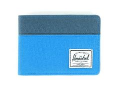 Hank Wallet (Canvas Two Tone/Ripstop Type with Paisley Interior) by Herschel Supply Co