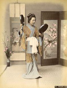 髪結 -- 【タイムスリップ】幕末から明治へ「1800年代末の日本」の臨場感あふれる写真たち